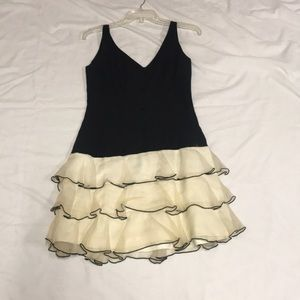 Vintage Party Dress with Button detailing
